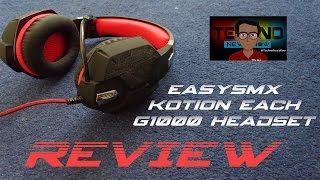 EasySMX Kotion Each G1000 Gaming Headset Unboxing & Review | The Coolest Gaming Headset?