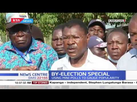 'We have notified IEBC of politicians openly hawking money to voters' Moses Wetangula