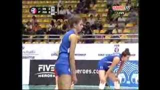 SRB VS PUR - Girls' U18 World Championship 2013