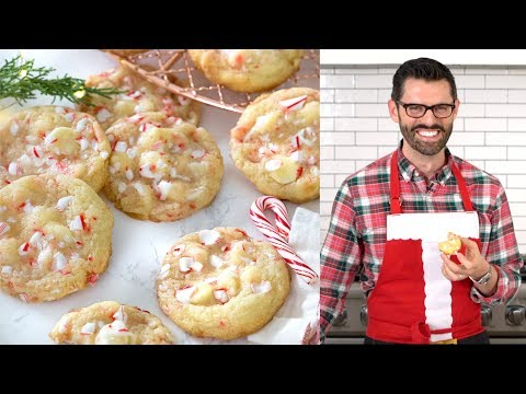 How to Make White Chocolate Peppermint Cookies