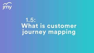 1.5 What is Customer Journey Mapping