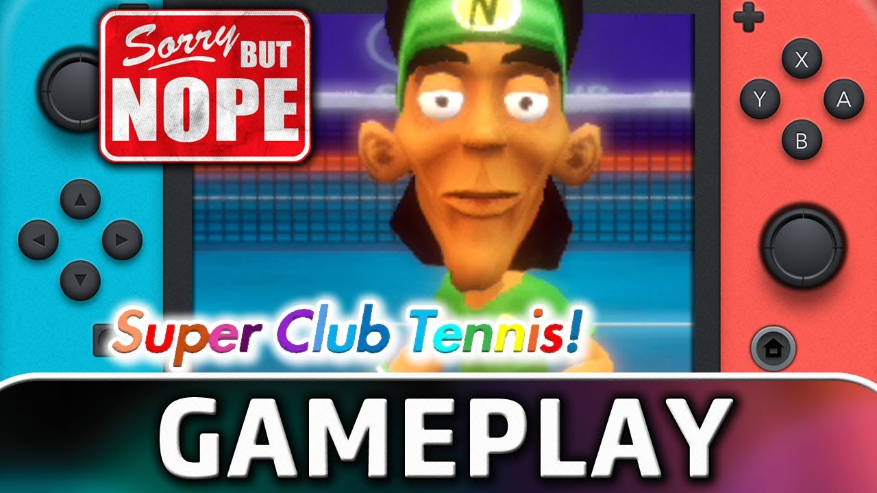 Super Club Tennis   Nintendo Switch Gameplay