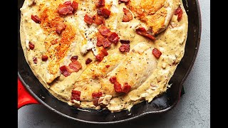 Cream Cheese Chicken With Bacon