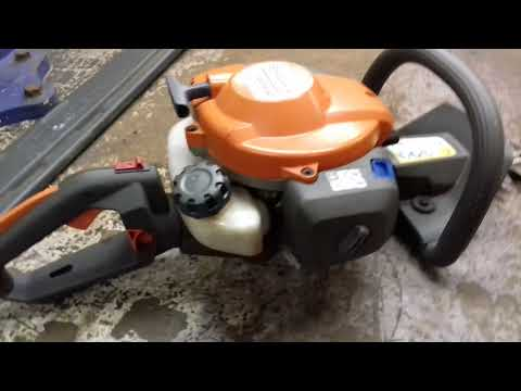 Husqvarna vs stihl hedge trimmers. review