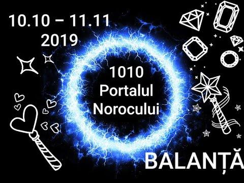 BALANȚĂ - Portalul Norocului - 10.10.2019-11.11.2019