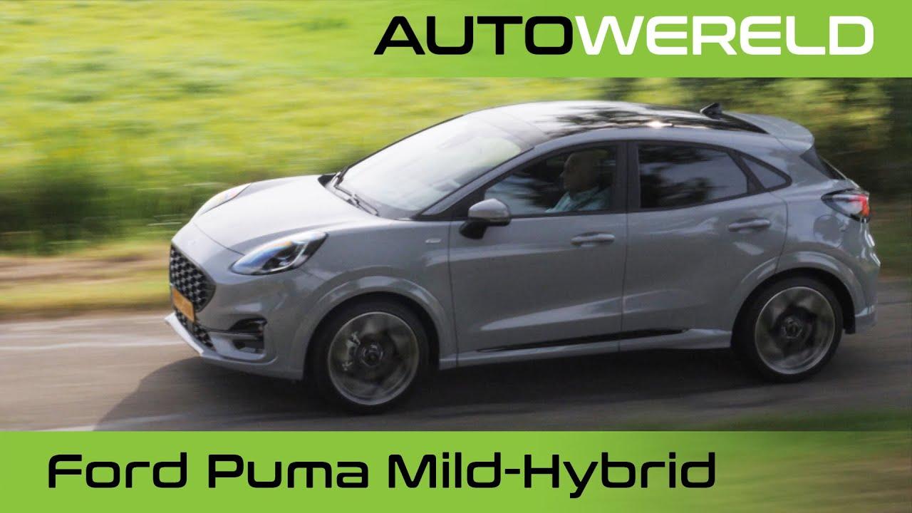 Ford Puma Mild-Hybrid met Automaat (2022) review met Allard Kalff | RTL Autowereld test