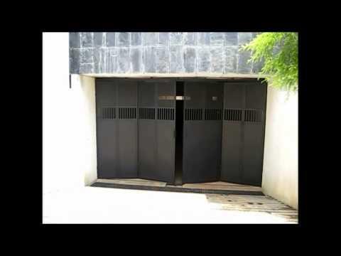 Motorised Folding Garage Doors