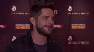"Thomas Rhett Talks Maren Morris & ""Craving You"""