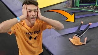 KID DIES AT TRAMPOLINE PARK *GRAPHIC CONTENT*
