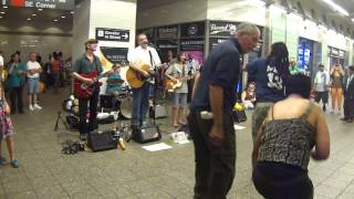 New york subway 42nd street beatles tribute