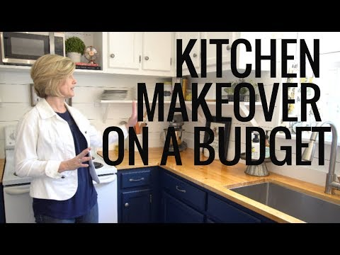 KITCHEN TOUR |MAKEOVER ON A BUDGET