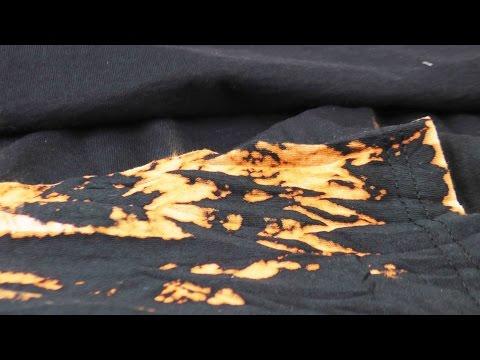 Aus Alt macht Neu - Kleidung | Kleidung färben mit Bleichmittel | Coole Muster selber machen