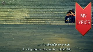 A Shoulder To Cry On | Tommy Page | Lyrics [Kara + Vietsub HD]