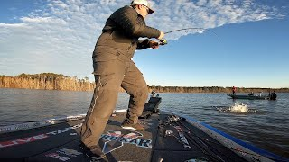 My BIGGEST Bass Ever in a Tournament! FLW Tour Sam Rayburn