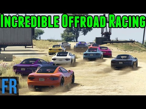 Gta 5 Challenge - Incredible Offroad Racing