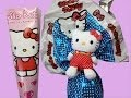 Hello Kitty Giant Surprise Eggs and Mega Cone