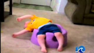 Baby bumbo seat warning - 5:15 a.m.