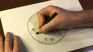 How To Draw A Clock Face