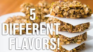 Healthy Oatmeal Cookies Recipe - 5 Flavors Easy To Make - Weight Loss Recipe