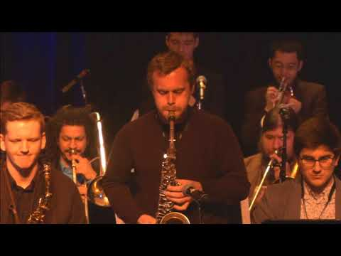 "One of my original composition ""Goodies"" with Berklee Concert Jazz Orchestra"