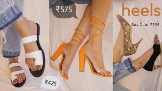 Trendy Heels and Flats Under @499/-