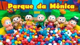 Turma da Mônica PARQUE DE DIVERSÕES com PISCINA DE BOLINHAS