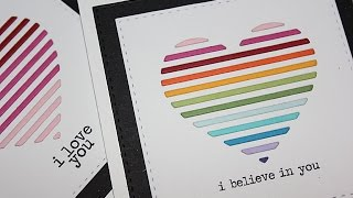 Simon Says Stamp Heart Vent Cards