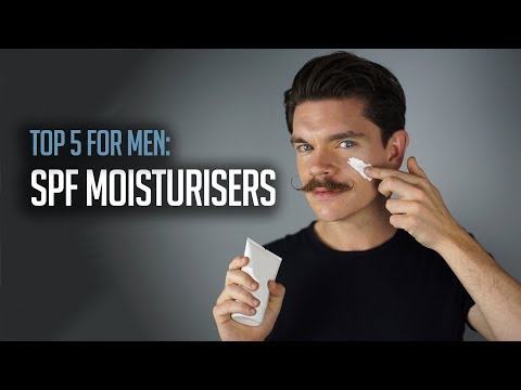 Best SPF Moisturisers For Men | How To Use It!