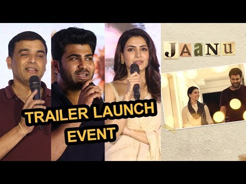 Jaanu Movie Trailer Launch Event