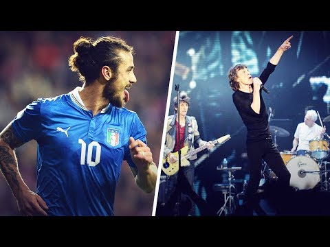 The Italian international who left a game to attend a Rolling Stones concert | Oh My Goal