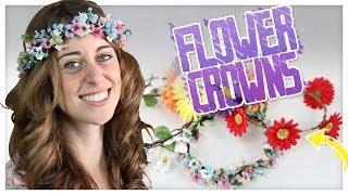 3 Types Of DIY Flower Crowns! - Do It, Gurl