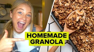 Customizable Homemade Granola With Alix • Tasty