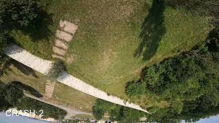 Day of crashes   FPV freestyle   drone fails