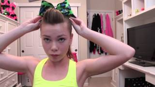 Cheerleading Practice ~ Hair, Makeup And Outfit!