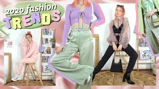 Styling 2020 Fashion Trends (12 Aesthetic Outfits W/ Nasty Gal)