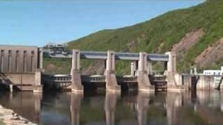 preview picture of video 'Hydroelektrárna Vrané nad Vltavou'