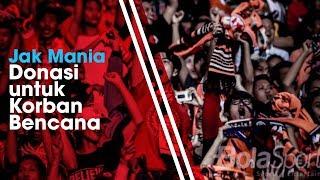 Suporter Persija Jakarta, The Jak Mania Akan Adakan Konser Amal untuk Korban Bencana