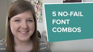 Five No-Fail Font Combinations For The DIY-ers