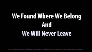 DVBBS-Never Leave Lyric Video ♥ Sumer HD