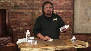 Cleaning and Conditioning Your Leather Sofa - Leather 101 with Ralph Ricciardi