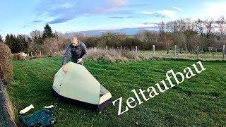 Mein neues Zelt für Fahrrad Weltreise - Wechsel Tent Exogen 1 - Unboxing & Zeltaufbau