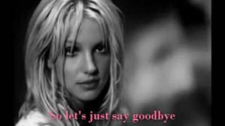 Britney Spears - Out from under (video with lyrics)