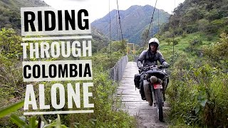 Alaska to Argentina on a Honda 90. Episode 14 - Colombia