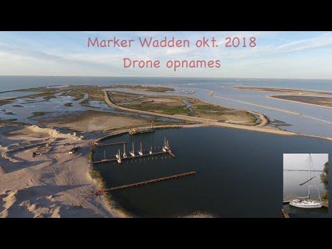 Marker Wadden - oktober 2018 opnames d.m.v. Een drone