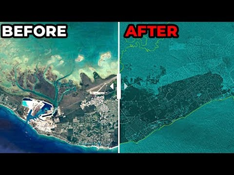 The Bahamas Are UNDER-WATER | Before & After Hurricane Dorian (Update #7)