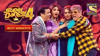 "Govinda और Chunky ने किया ""O Lal Dupatte Wali"" Song पे Dance | Super Dancer 4 | सुपर डांसर 4"