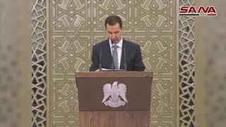 ماذا قال الرئيس الأسد عن معالجة الوضع المعيشي للمواطن؟