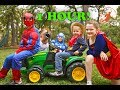 New Sky Kids Little Superhero Kids Compilation Video 1 Hour with the Super Squad