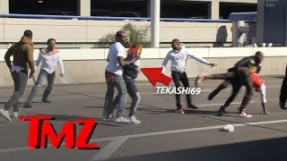 Rapper Tekashi69 and Crew in Massive Brawl at LAX | TMZ