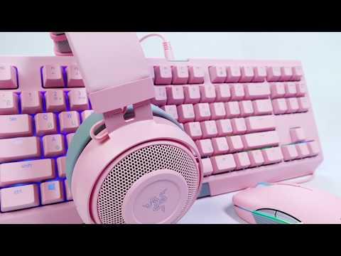 Фото - Гарнитура проводная игровая Razer Kraken Pro V2 Quartz Edition (RZ04-02050900-R3M1)